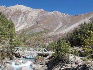 ruta de los Annapurnas