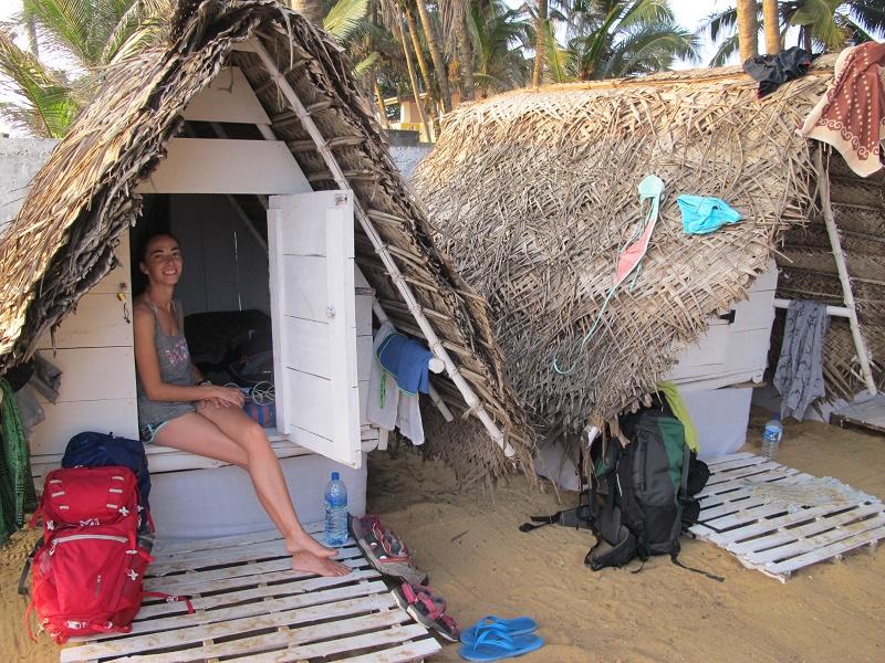 Cabaña en la playa de Boosa