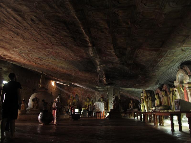 Cuevas de Temple Rock en Dambulla