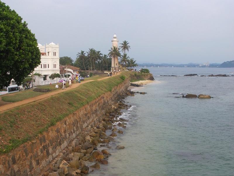Vistas desde Fort Galle