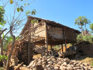 Casa típica de Hsipaw