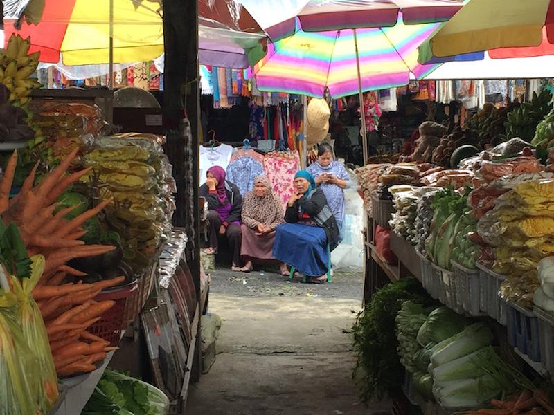 mercado en Bali