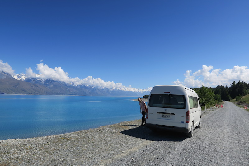 Viajando en furgoneta