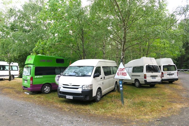 camping lleno