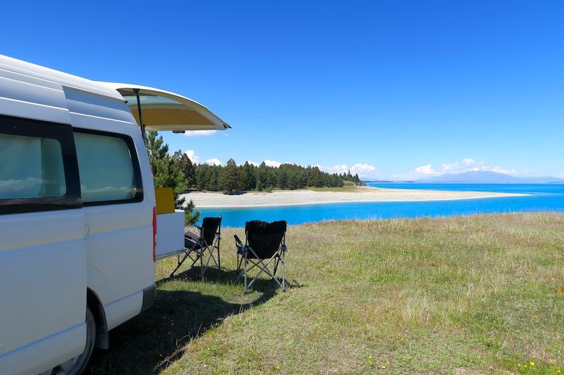 camping gratis pukaki