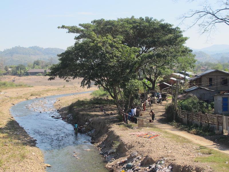 cercanías de Hsipaw