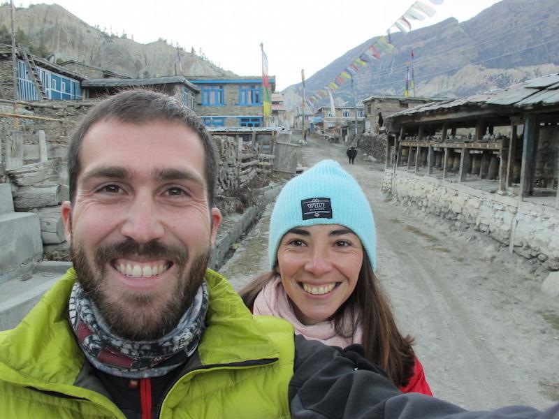 Felices en los Annapurnas, Nepal
