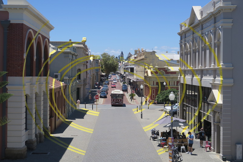 barrio de Fremantle, Perth