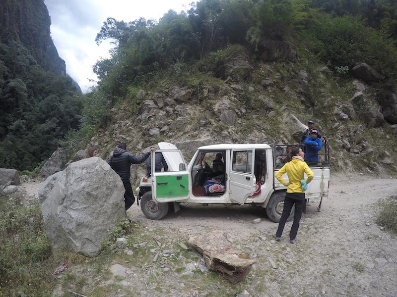 Deshaciendo el camino, circuito de los Annapurnas