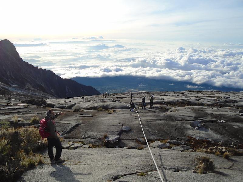 Cima monte Kinabalu