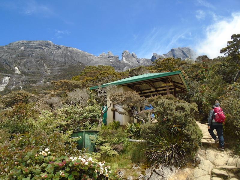 Subiendo el monte Kinabalu